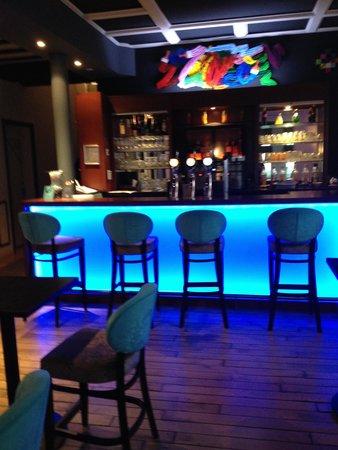Hotel Castel Victoria : decor du bar