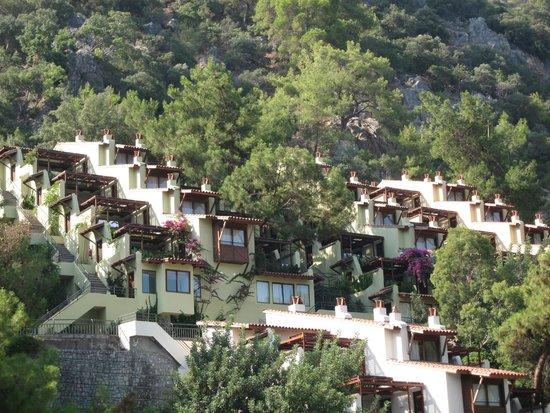 Hillside Beach Club: Vista doa apartamentos superiores