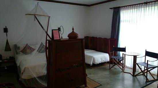 Blue Bird Hotel : Vue de la chambre