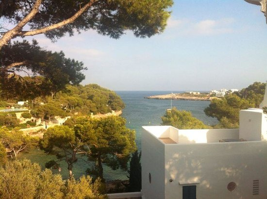Hotel Cala d'Or: View from the room