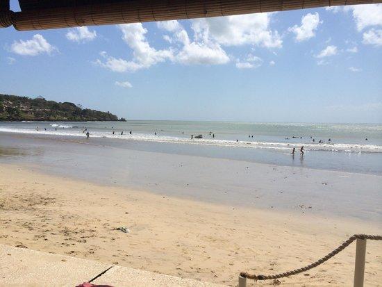 Jimbaran Beach Club (JBC): View of the beach