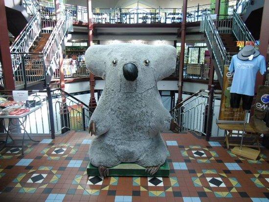 The Three Sisters: Giant Koala inside the mall