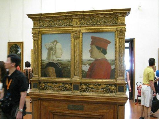 Galerie des Offices : Duke & Duchess of Urbino
