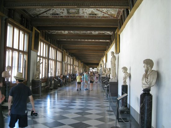 Galerie des Offices : Surprisingly uncrowded