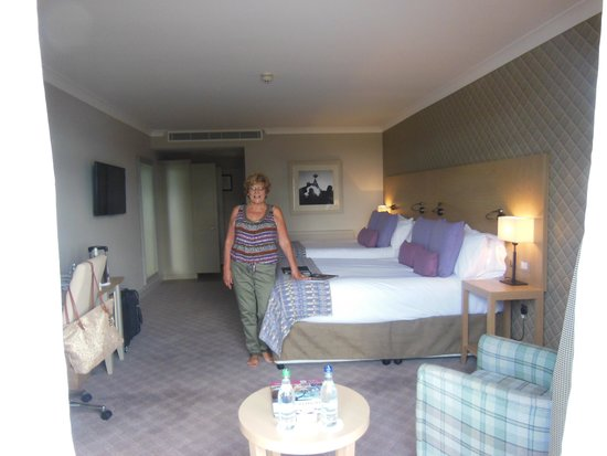 The Belfry: Our lovely room
