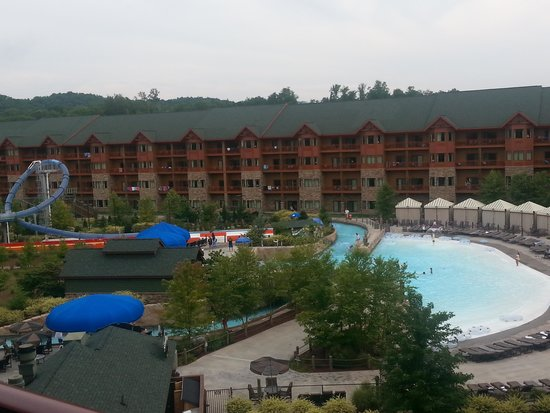 Wyndham Vacation Resorts Great Smokies Lodge: view from our room
