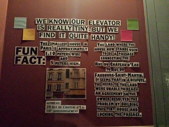 Arty Paris : elevador
