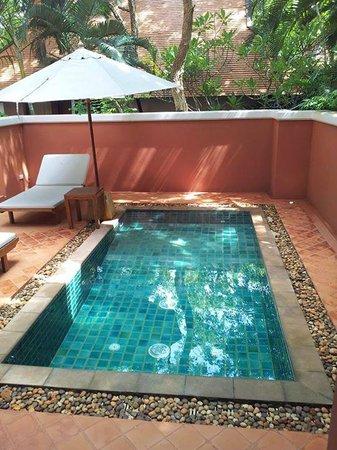 Renaissance Koh Samui Resort & Spa: Private plunge pool on terrace of villa