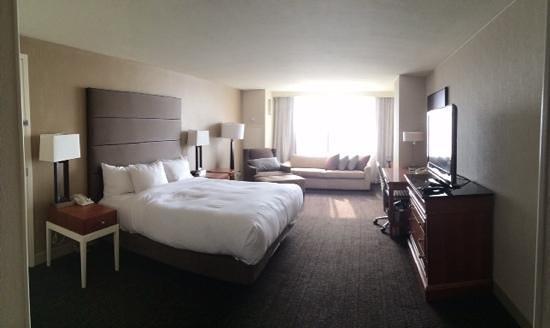 Hilton Salt Lake City Center: Hilton downtown Salt Lake City King Size