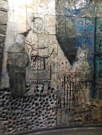 The Jordi Bonet Murals