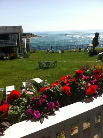 Marginal Way House: view from the balcony