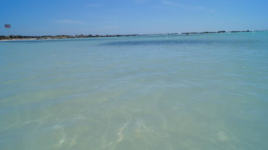 Baby Beach: Água