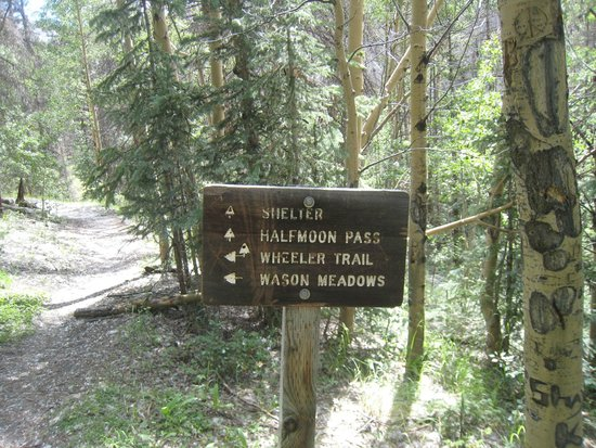 Wheeler Geologic Area: Sign inside the Geologic Area