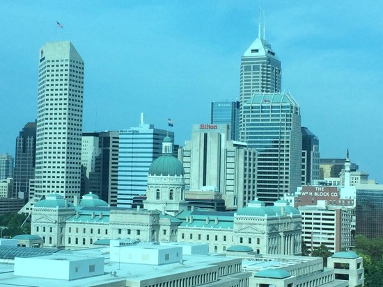 JW Marriott Indianapolis : The amazing view from my bedroom window!