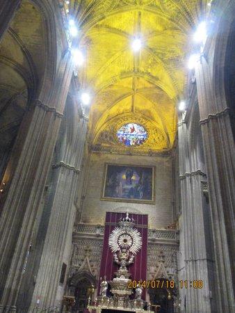 Cathédrale Notre-Dame du Siège de Séville : 内部1