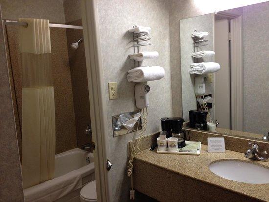 Days Inn St Clairsville: Bathroom