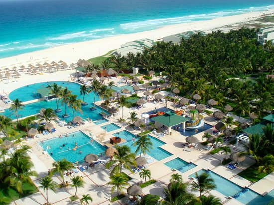 Iberostar Cancun: View from our room