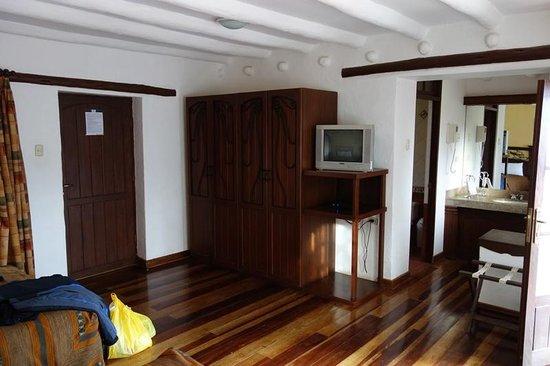 Hotel Hacienda del Valle: Blick ins Zimmer