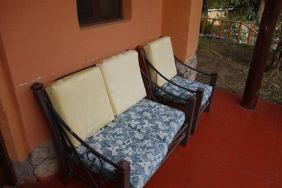 Hotel Hacienda del Valle: Blick auf die Terrasse