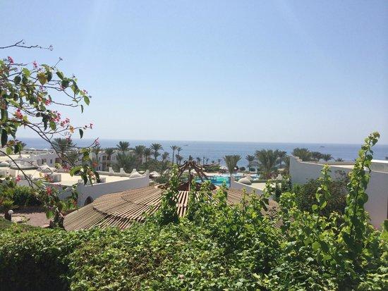 Sunrise Diamond Beach Resort: view from table