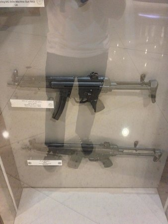 Armed Forces Officers Club & Hotel: Displays