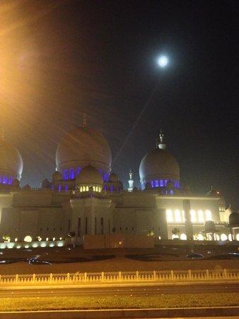 Mosquée Cheikh Zayed : Night