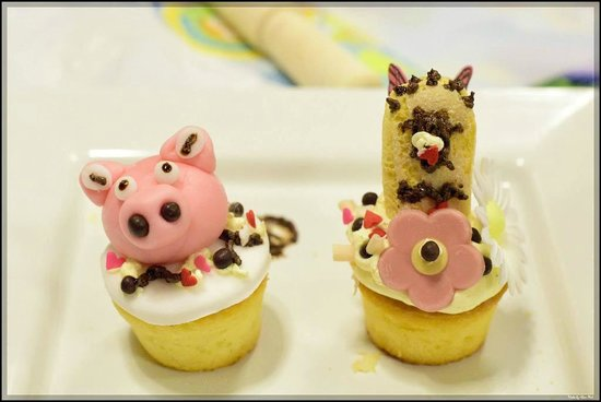 Auberge Discovery Bay Hong Kong: Cup Cake class