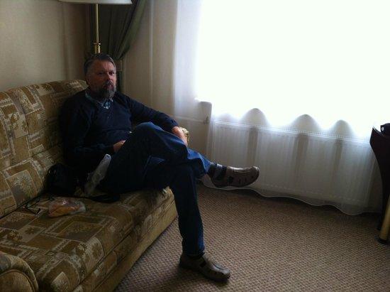 Volkhov Hotel: dans le canapé très confortable