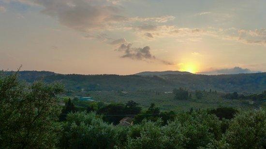 Agriturismo Montereggi: View from our Villa
