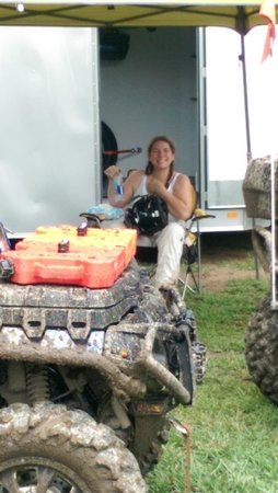KJC ATV Rentals and Trails of South Haven: The smile says it all