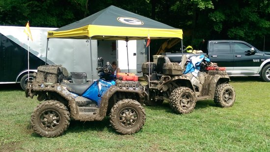 KJC ATV Rentals and Trails of South Haven: I was not expecting that much mud.