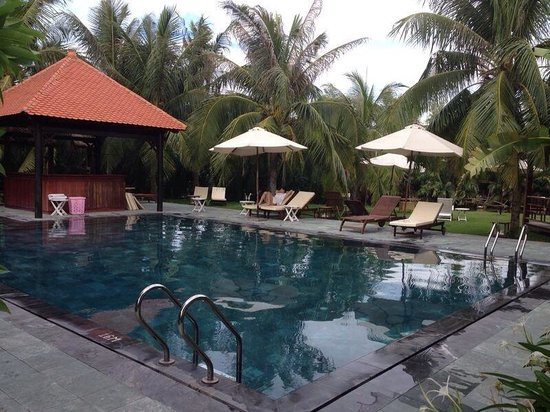 Hoi An Riverside Bamboo Resort : Piscine
