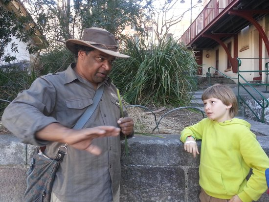 The Rocks Dreaming Aboriginal Heritage Tour: August 2014
