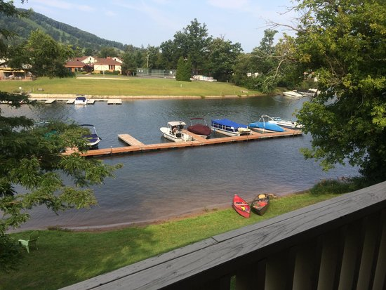 LakeStar Lodge: View from our balcony