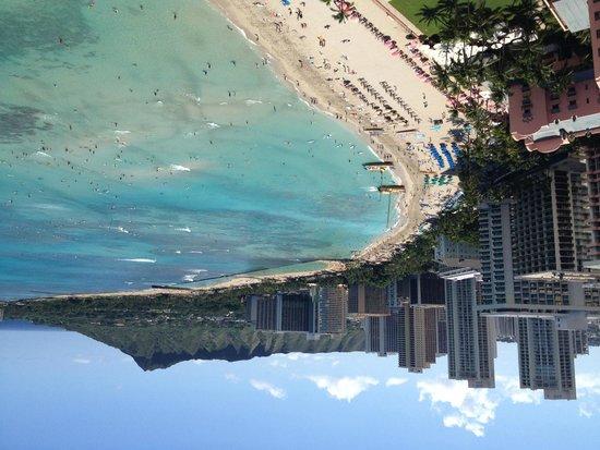 Sheraton Waikiki: the view from our lanai
