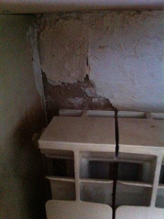 Arbanassi Palace : L'état des murs...