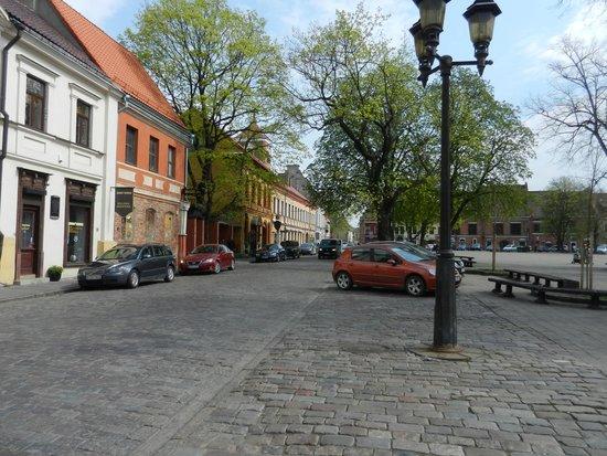 Old Town Kaunas: площадь