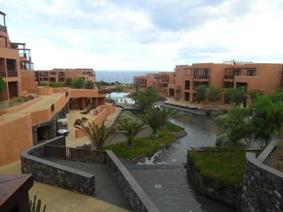 Sandos San Blas Nature Resort & Golf: vue du bar proche de la reception