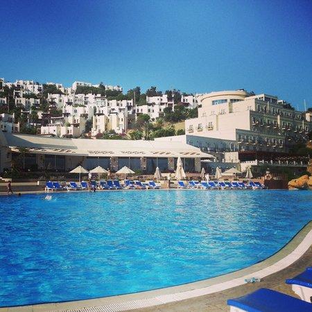 Yasmin Resort Bodrum: yasmin resort havuz