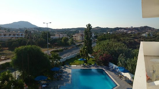 Sotirakis Hotel : Вид с балкона