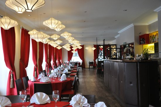 The Rendezvous Restaurant: Main dinning room
