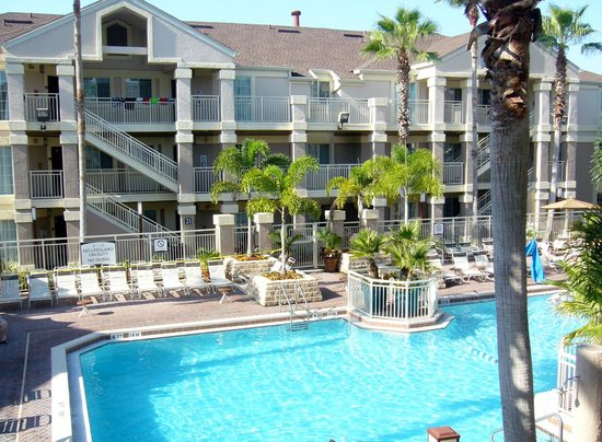 Staybridge Suites Lake Buena Vista: From our 2nd floor suite