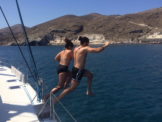 Sunset Oia Sailing Cruises: Here we go