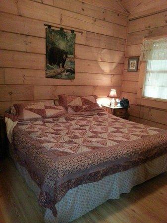 Laurel Mountain Cabins : Master Suite