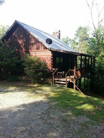 Laurel Mountain Cabins : A Bear Pause Cabin