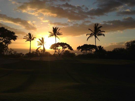 Fairmont Kea Lani, Maui: sunet golf