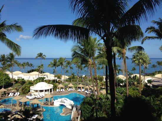 Fairmont Kea Lani, Maui: view from room
