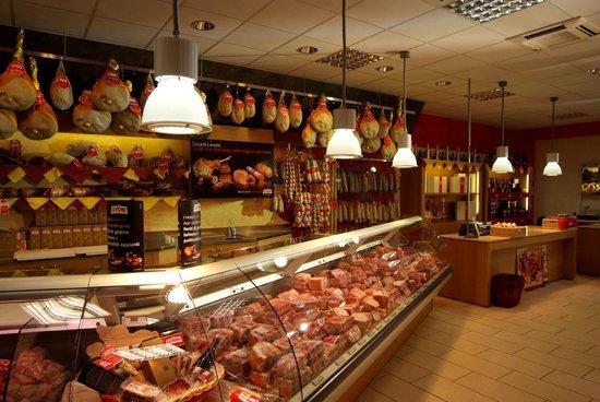 Castellucchio, Italien: La bottega di Levoni