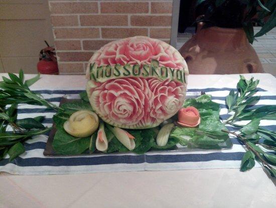 Aldemar Knossos Royal : Арбуз - сувенир