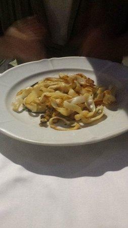 Cafe De L'Academia : Squid Pasta